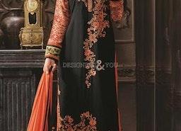 Lovable Black Digital Print Georgette Aline Shalwar Kameez By Designersandyou