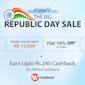 Musafir BIG Republic Day Sale