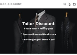 Men's suits and shirts big discount