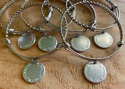 Custom coordinates bangles