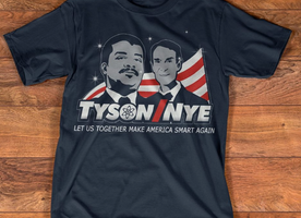 Am in LOVE with these 'Make America Smart Again' T-Shirts. Way to go Neil Degrasse Tyson!