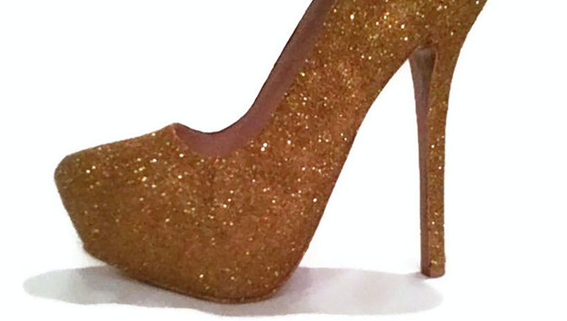 Beauty & The Beast Inspired Heels