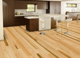 Hard wood flooring styles have been made up to chance your home