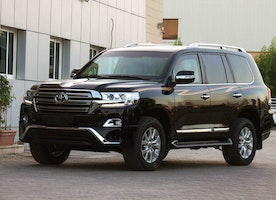 Armored Toyota Landcruiser 200 series - سيارة مصفحة