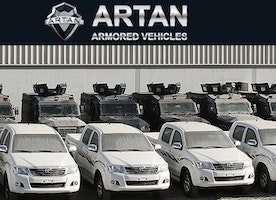 Artan Military and Civilian vehicles.