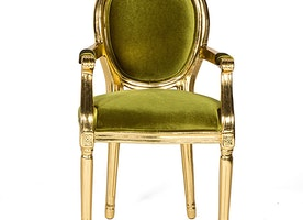 Louis Chair Green on Rent for Special Events & Parties in NYC