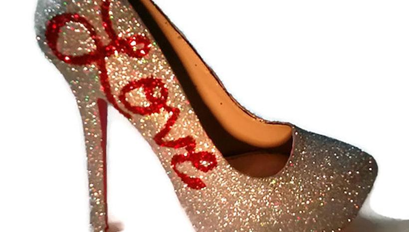 Love Glitter Heels