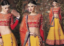 Wedding Lehenga Choli Designs: Indian Designer Lehengas / Lenghas For Engagement | Designers And You