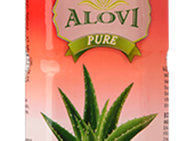 Prepare strawberry flavor aloe vera beverage
