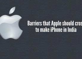 Barriers that Apple should cross to make iPhones in India