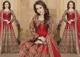 Inexpensive And Colorful Anarkali Gown To Express Like Decisive