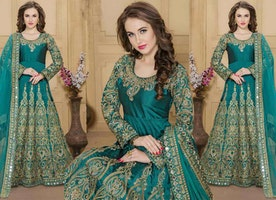 Fascinating And Delightful Anarkalis Dress For Sophisticated Look