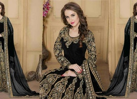 Sensational And Beautiful Designer Anarkali Suit For Stylish Look