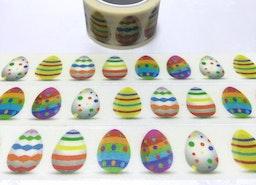 Easter egg washi tape 5M colorful egg decoration sticker tape strip egg polka dots egg cute egg masking tape easter party decoration gift