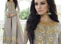 Party Wear Indo-Western Dresses: Women's Designer Anarkali Suits Punjabi suits & Pakistani dresses