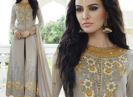 Party Wear Indo-Western Dresses: Women's Designer Anarkali Suits Punjabi suits & Pakistani dresses