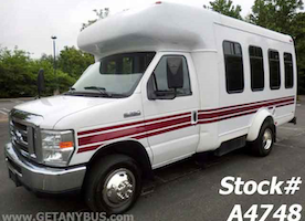 Used Shuttle bus for sale by Major Vehicle Exchange a bus dealership