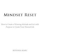 Mindset Reset Book Cover