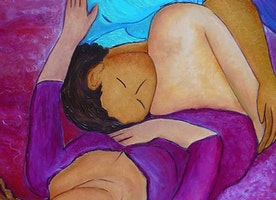 """Intimacy""  original artwork by Gioia Albano"