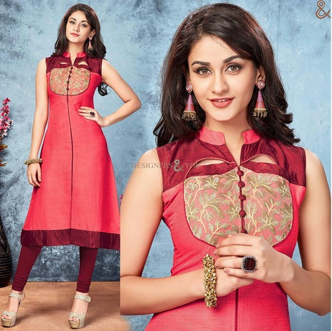 Designer Kurtis With Different Styles Cuts Latest