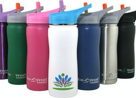 FNova 35 Ounce Vacuum Insulated Stainless Steel Water Bottle