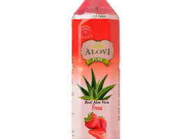 Sugar to strawberry aloe vera beverage UK