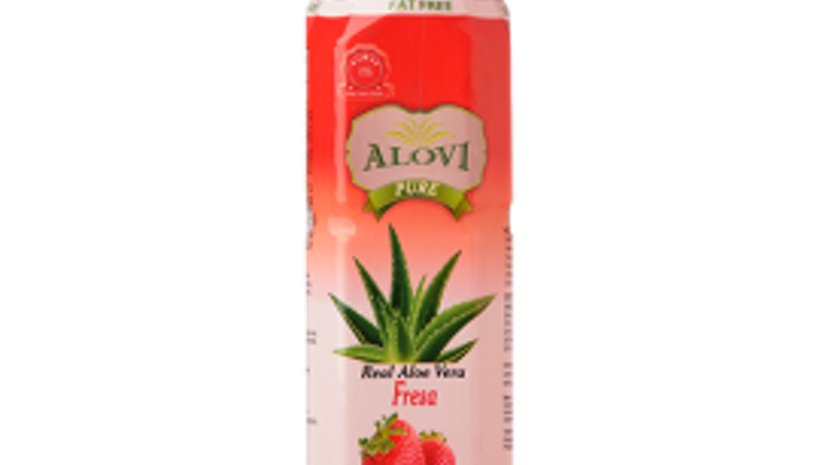 Sugar to strawberry aloe vera beverage UK