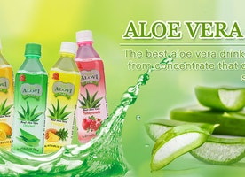 Attributed alovi aloe vera beverage factory UK