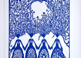 Sisters Art Print - Empowering Women