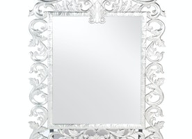Royal Carved Mirror Silver on Rent for Special Events & Parties in NYC