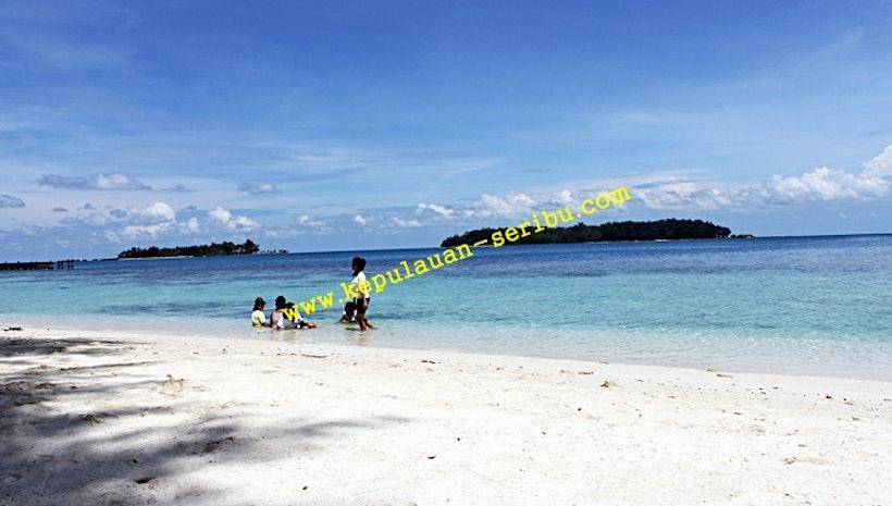 Travel Kepulauan Seribu Island Resort and Island Residents in Jakarta