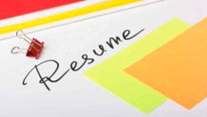 Resume- writing it right