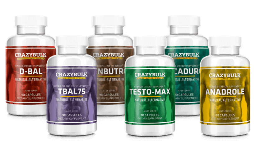 Live Healthy - Crazy Bulk Muscle Building Supplements