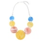 Solid Circles Necklace - Multi