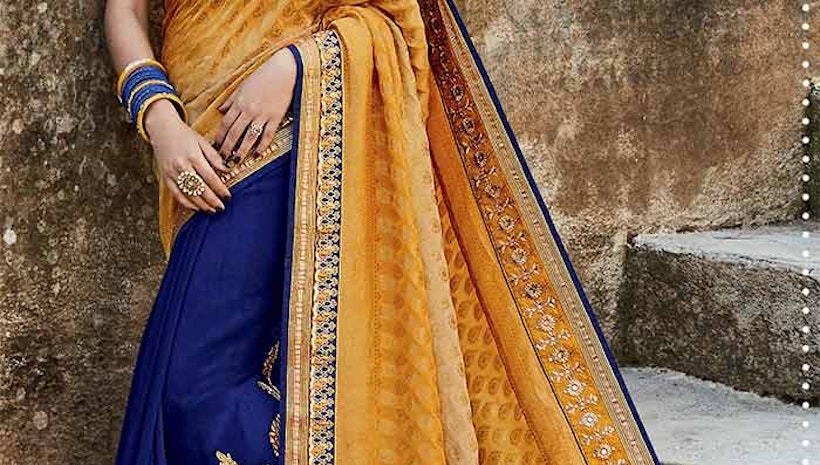 Party Wear Designer Sarees: Fancy sarees Designs Latest Fashion collection of Beautiful Indian saris