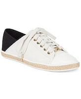 These sneakers from Michael Kors are so elegant