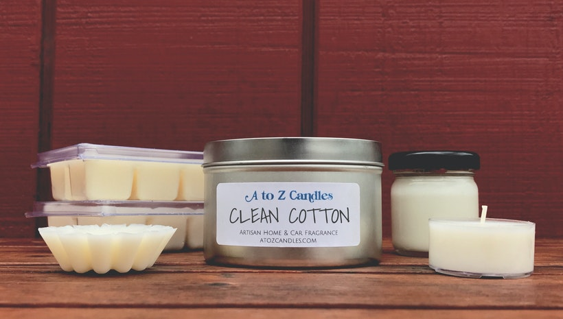 A to Z Candles:  Artisan Soy Candles & Wax Melts