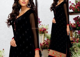 Pakistani Dresses Designs: Party Wear Designer Pakistani Suits Boutique Style Straight Salwar Kameez