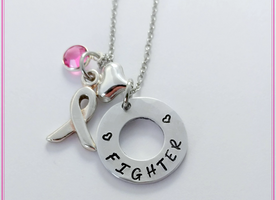 Support all the fighters out there - Breast Cancer Bling Chicks Gift Set