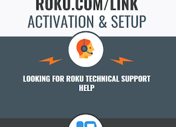 Support for roku.com/link Activation & Setup