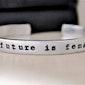 The Future is Female Cuff Bracelet