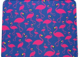 Pink Flamingos  Mouse Pad
