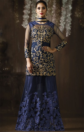 Designer Indo Western Dresses For Women Gowns Style Party