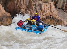 Whitewater Rafting near Las Vegas