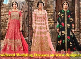 Designer Lenghas: Embroidered Wedding Lehenga & Bridal Lehenga Choli Designs Online Designers andyou