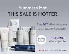 50% SALE until July 31!