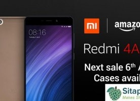 Wow! Redmi 4A Next Sale is Live