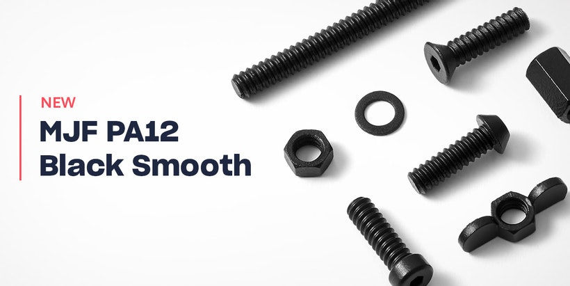 A New, Smooth Finish For Multi Jet Fusion Black PA12