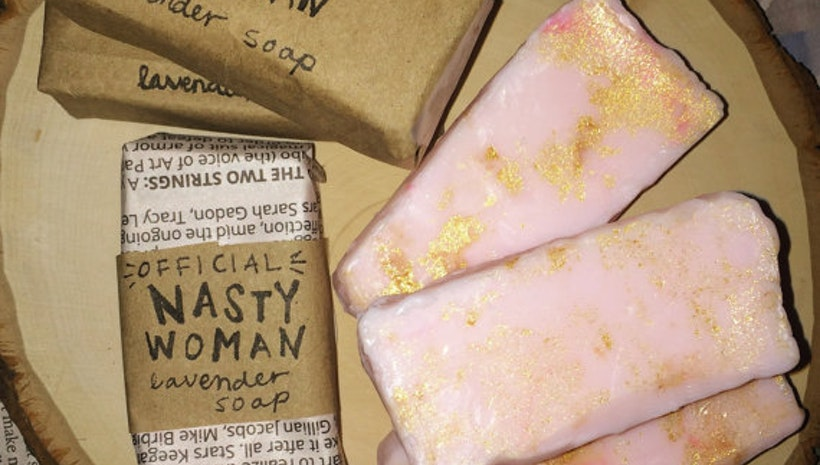 Nasty Woman Sparkling Bar Soap
