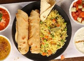 Yummy! Enjoy Faasos food served at your doorsteps